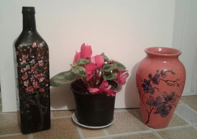 Petronella Milea - Decoruri pe sticlă 5