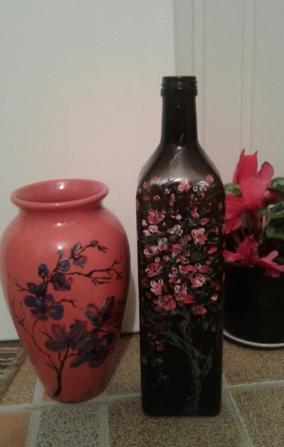 Petronella Milea - Decoruri pe sticlă 2
