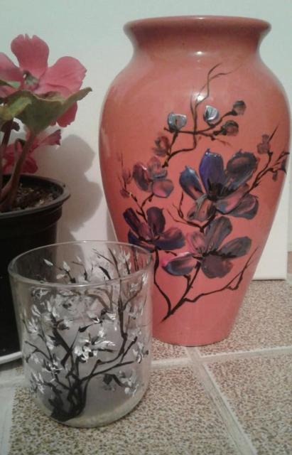 Petronella Milea - Decoruri pe sticlă 4